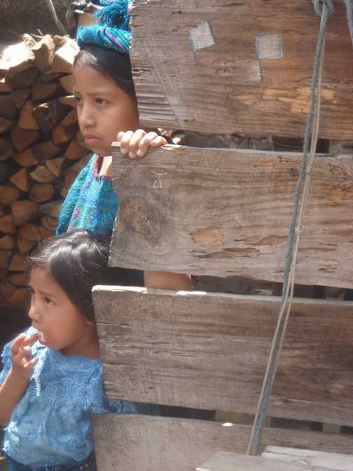 Curious girls @Guatemala