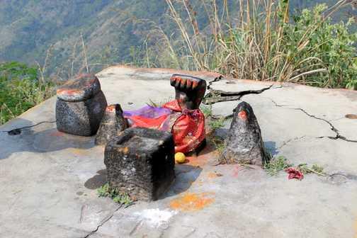 Snake shrine