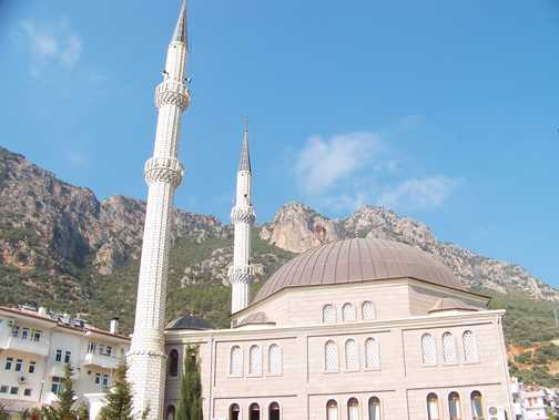 The local mosque in Kas