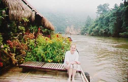 At the River Floatel on the River kwai