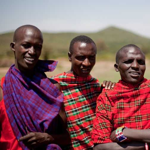 Masai Warriors, Masai village