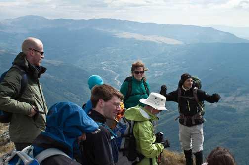 Group on Ugljesin Peak