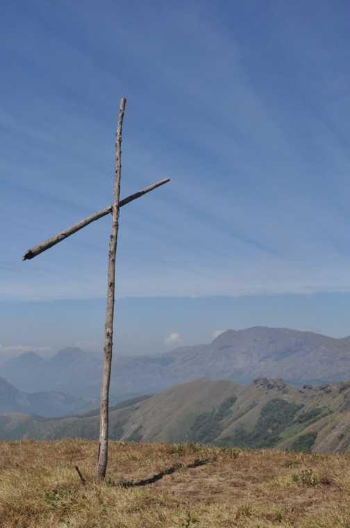 Mapprine Peak, View of Ana Mudi, near Munnar
