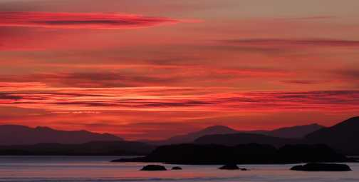 Dawn at Stykkisholmur