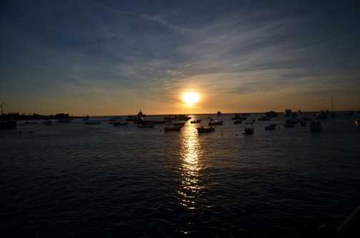 Sunset over Shipwreck Bay