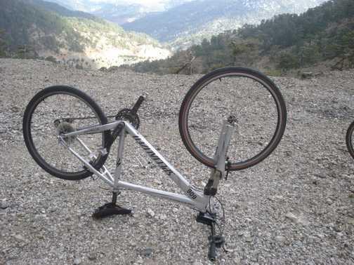 Bike on Mountain