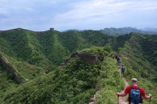 The group at Huangyaguan