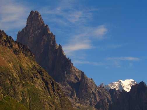 near Col de la Seigne