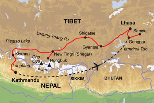 ACB Trip Map