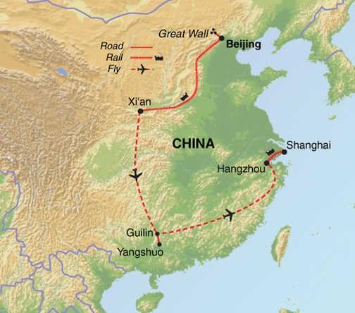 ACH Trip Map