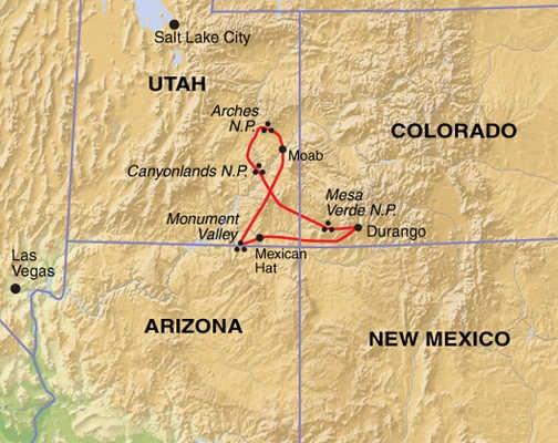 AHF map