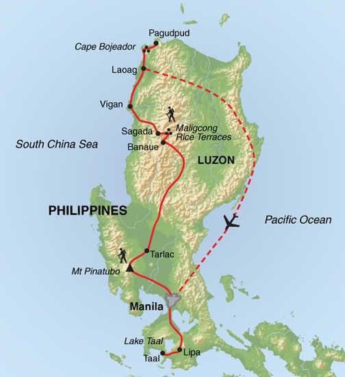 ALK Trip Map