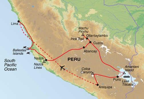 APDA Trip Map