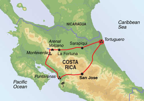 Trip BBA - Map
