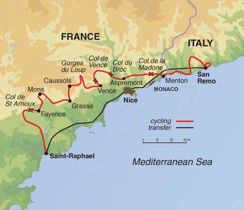 MSN map