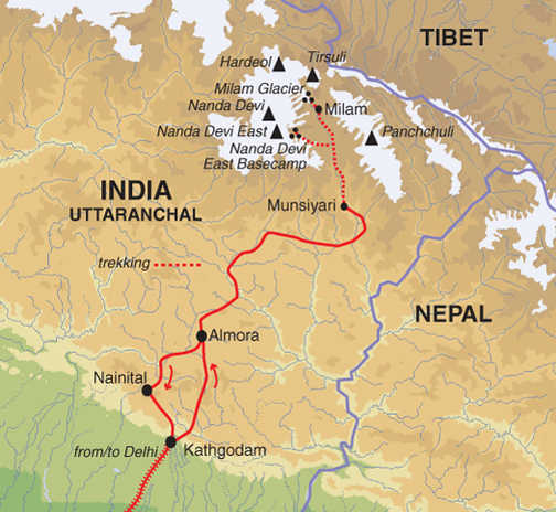 TGU Trip Map