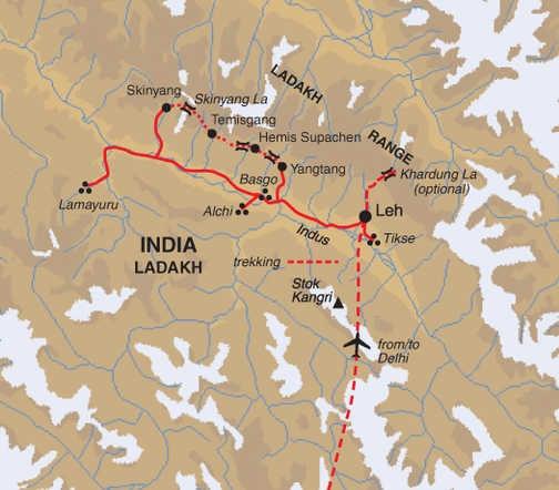 TGX Trip Map