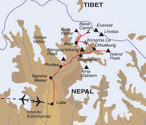 TNI Trip Map
