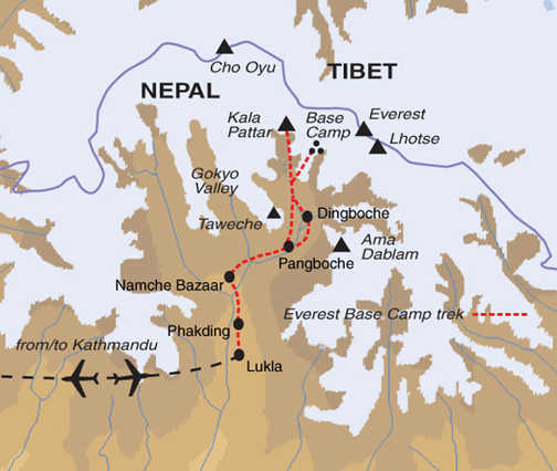 TNT Trip Map