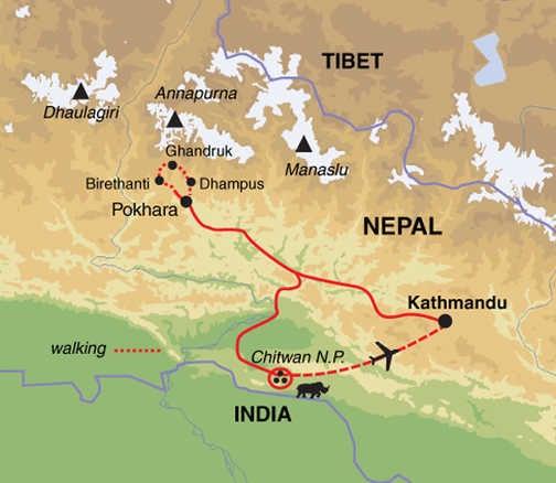 TNX Trip Map