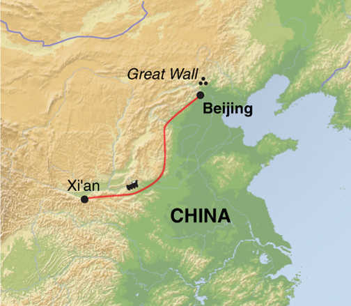Trip Map XCW