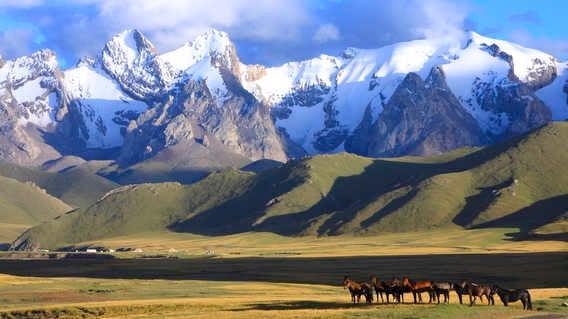 Tien Shan Mountains, Kyrgyzstan