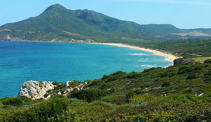 Views of Sardinia's coast
