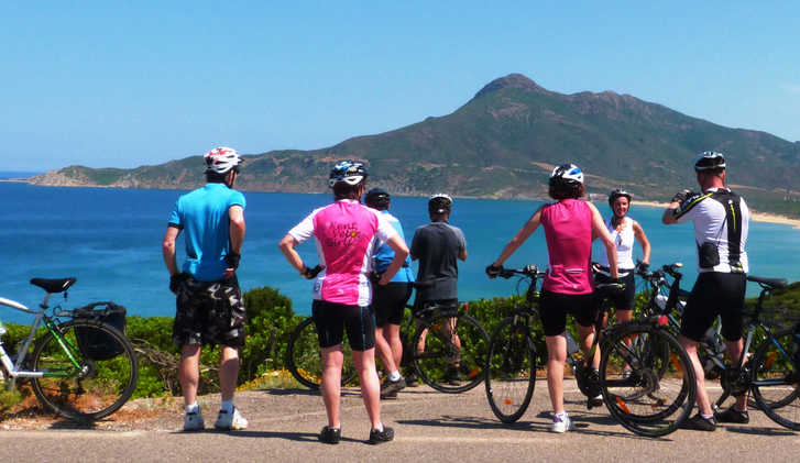 Cycling in Sardinia