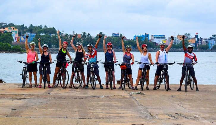 Cycling Galle-Koggala, Sri Lanka