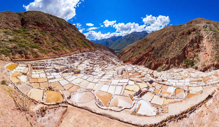 Salt Pans of Maras, Peru