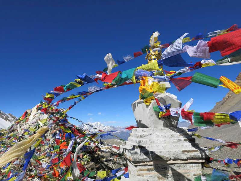 Prayer flags, Nepal