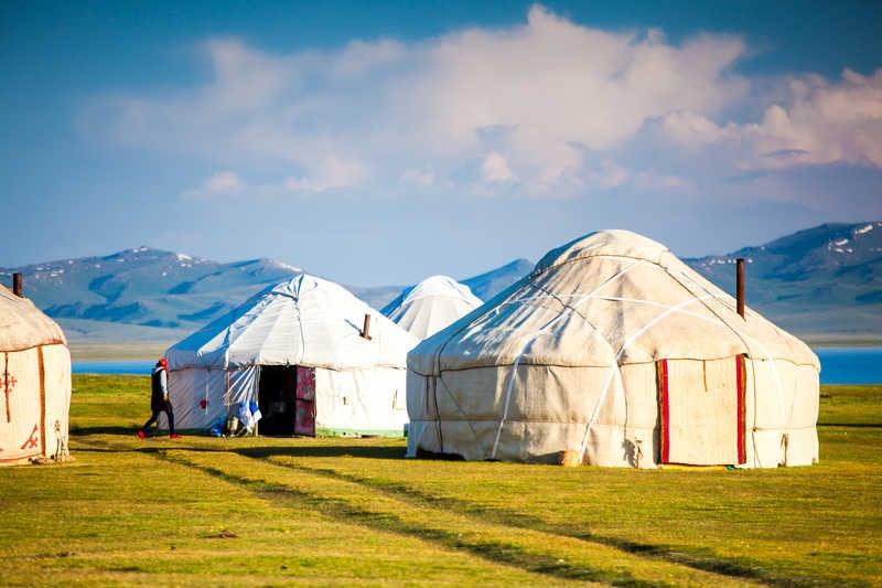 Yurt camp, Kyrgyzstan