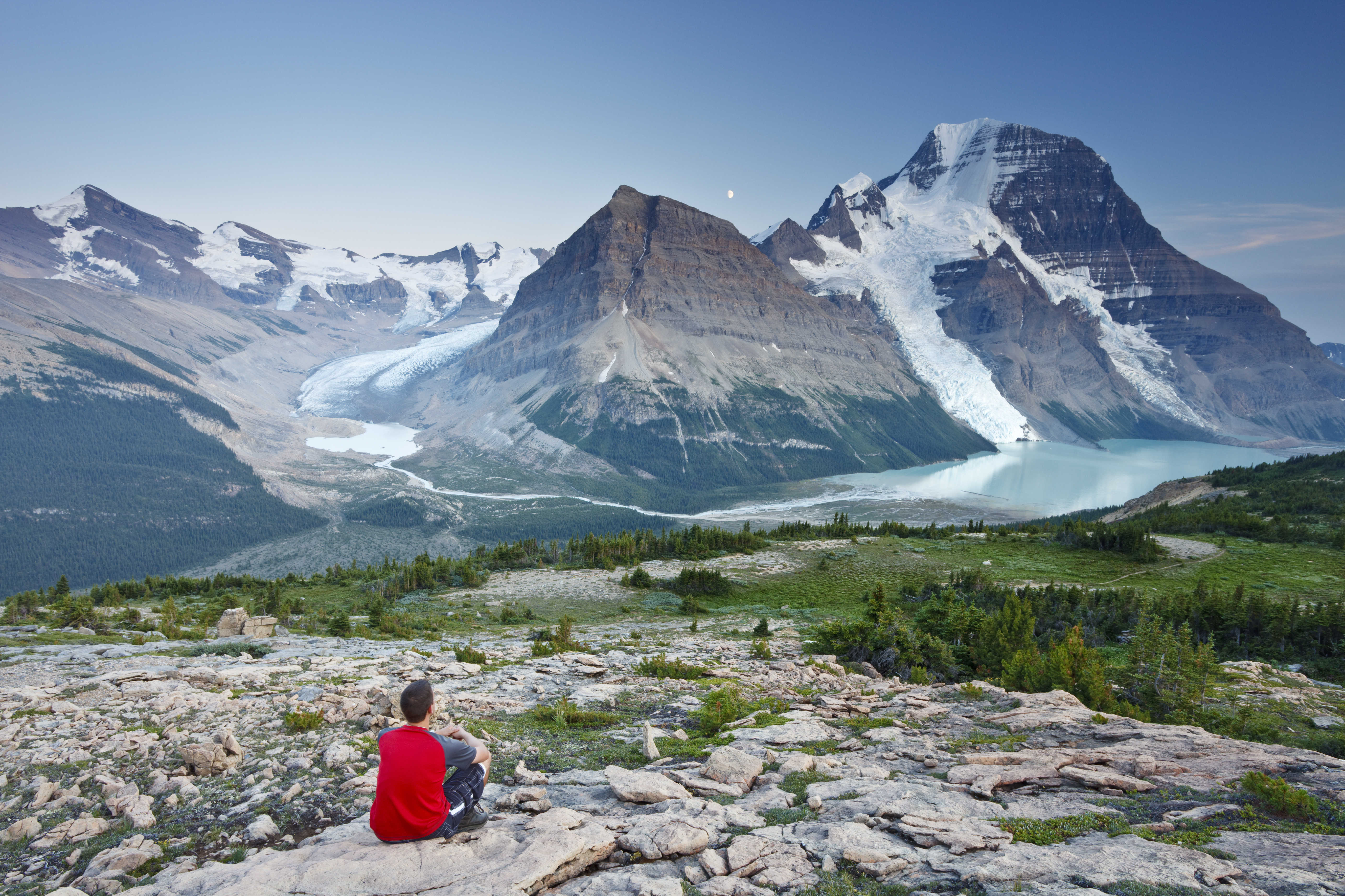 Views of Mount Robson, Canada