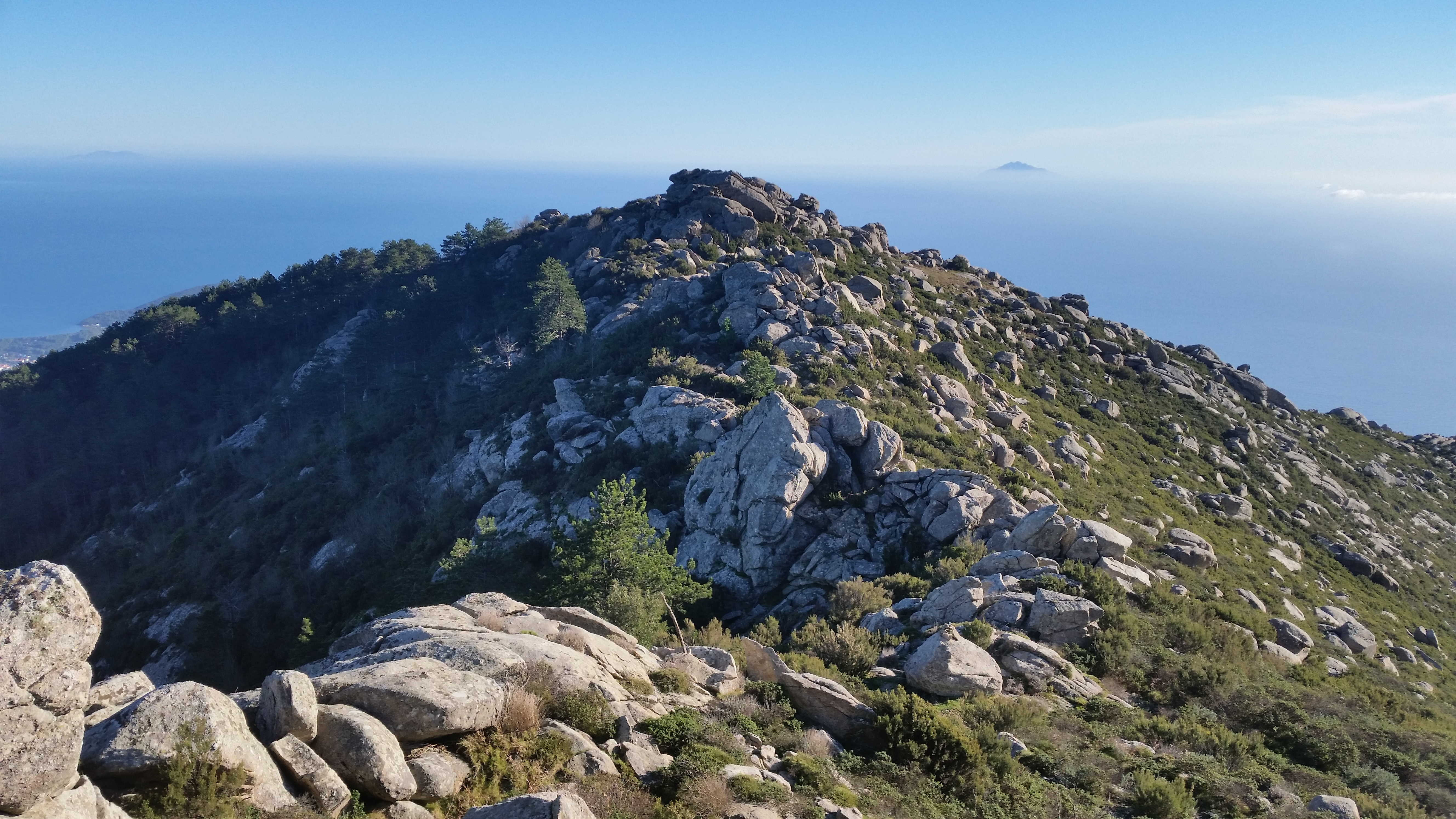 Elba from Monte Capanne
