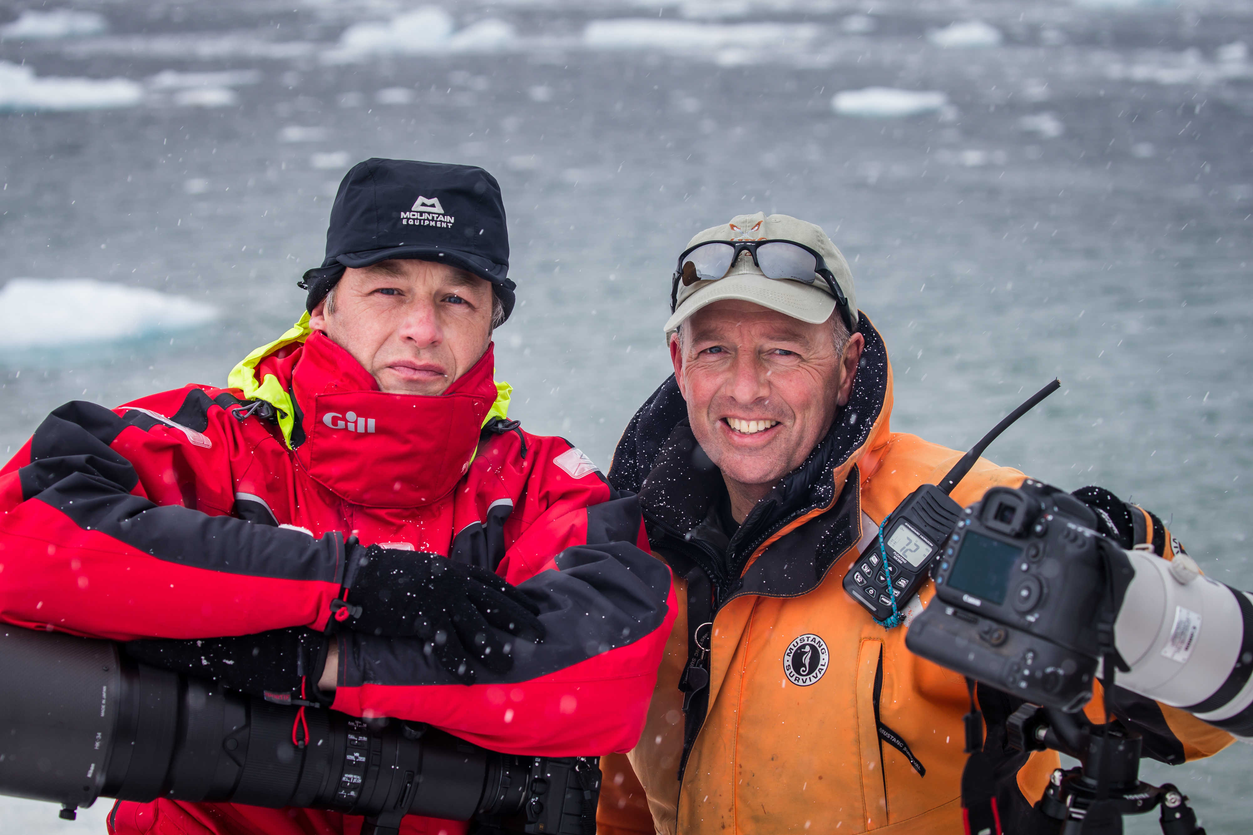Paul Goldstein and Chris Packham