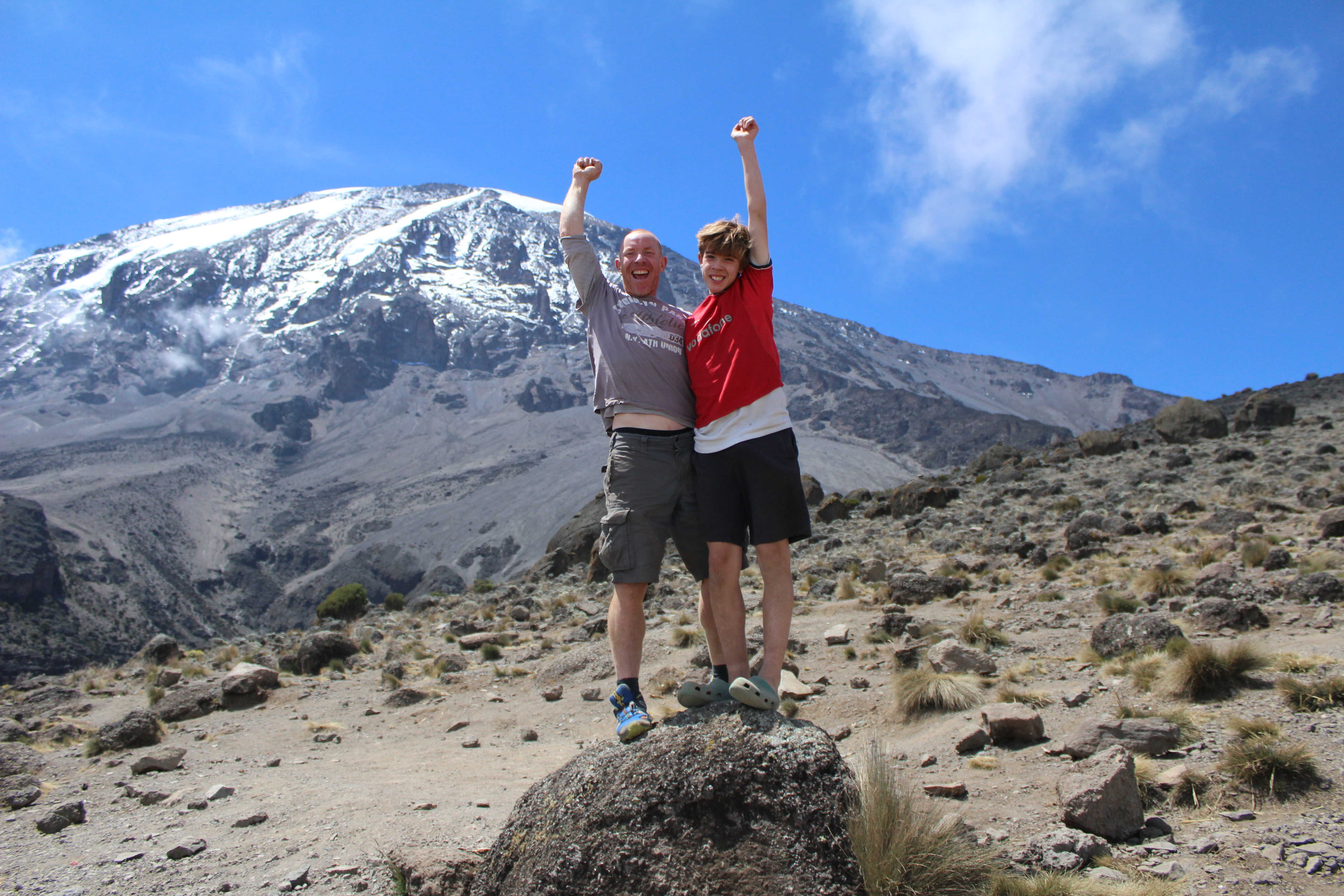 Father and Son, Kilimanjaro