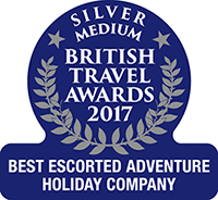Exodus: Best escorted Adventure Holiday Company – Silver