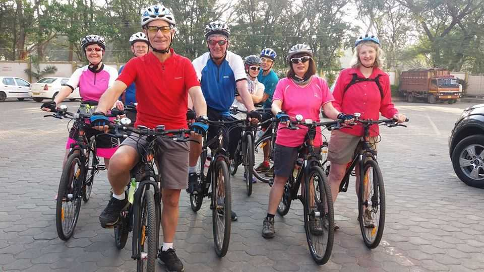 Michael Winstanley Tailormade Group - Cycling in Kerala