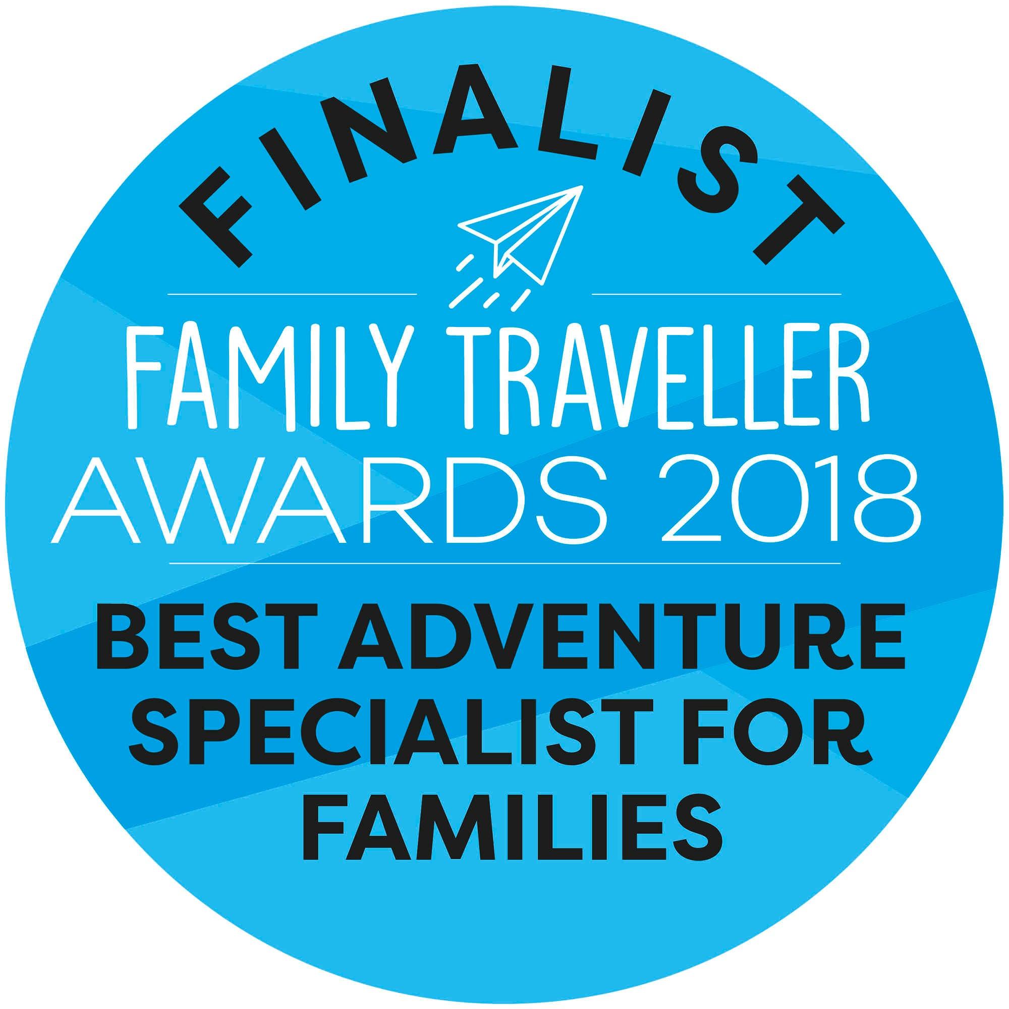 Exodus Nominated in Family Traveller Awards