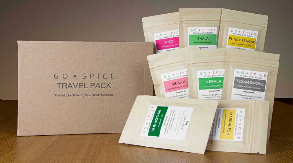 Go Spice Travel Pack
