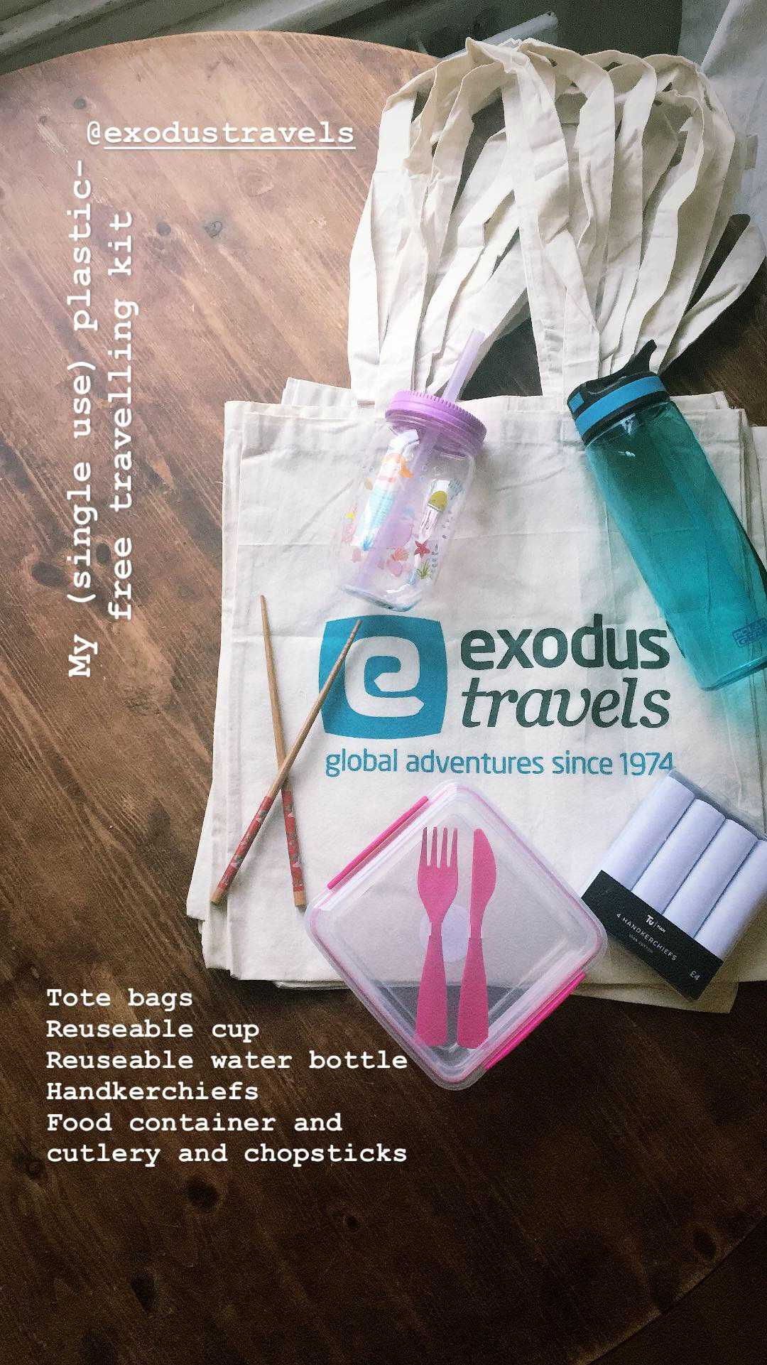 Plastic Free Travel Kit Vietnam