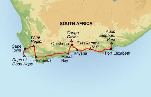 Cape Town The Garden Route Guardian Holidays
